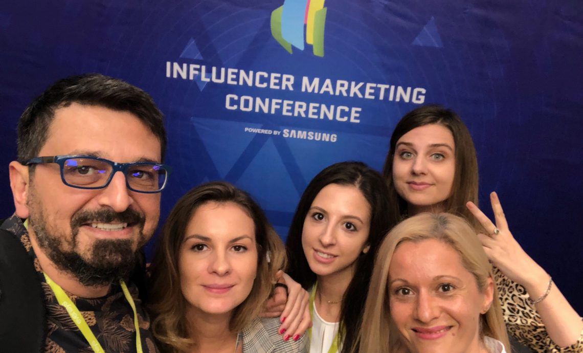 Echipa 2Performant la Influencer Marketing Conference