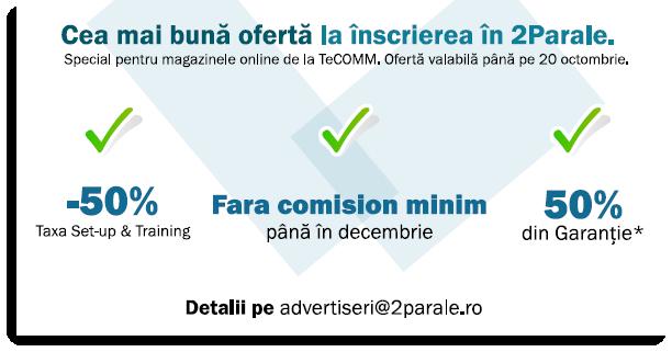 inscriere 2Parale, oferta TeCOMM
