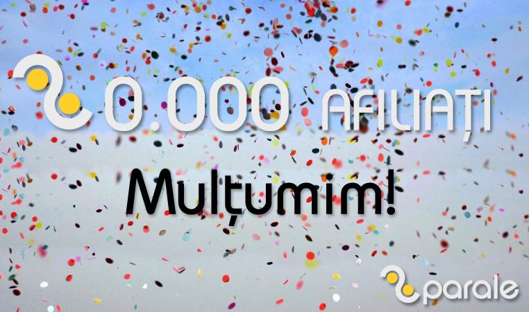 20.000 afiliati 2Parale