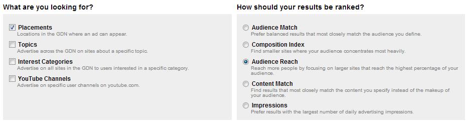 adplanner audience