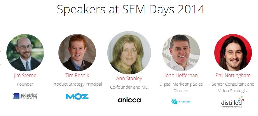 semdays 2014 speakeri