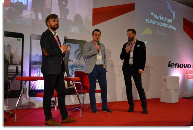 Bogdan Aron, Claudiu Vrinceanu, Cristi Ignat