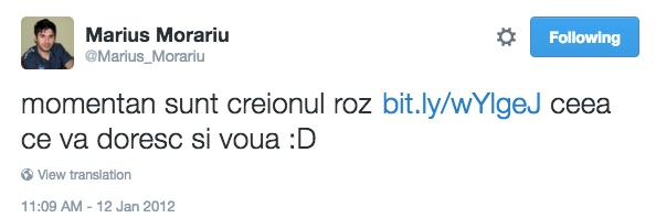 morariu twitter