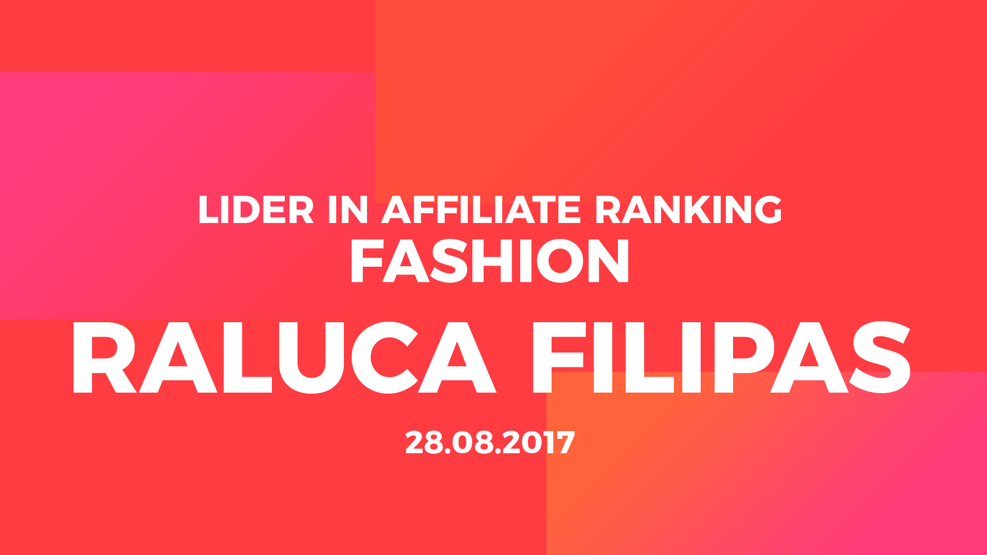 Affiliate ranking top affiliate fashion raluca filipas