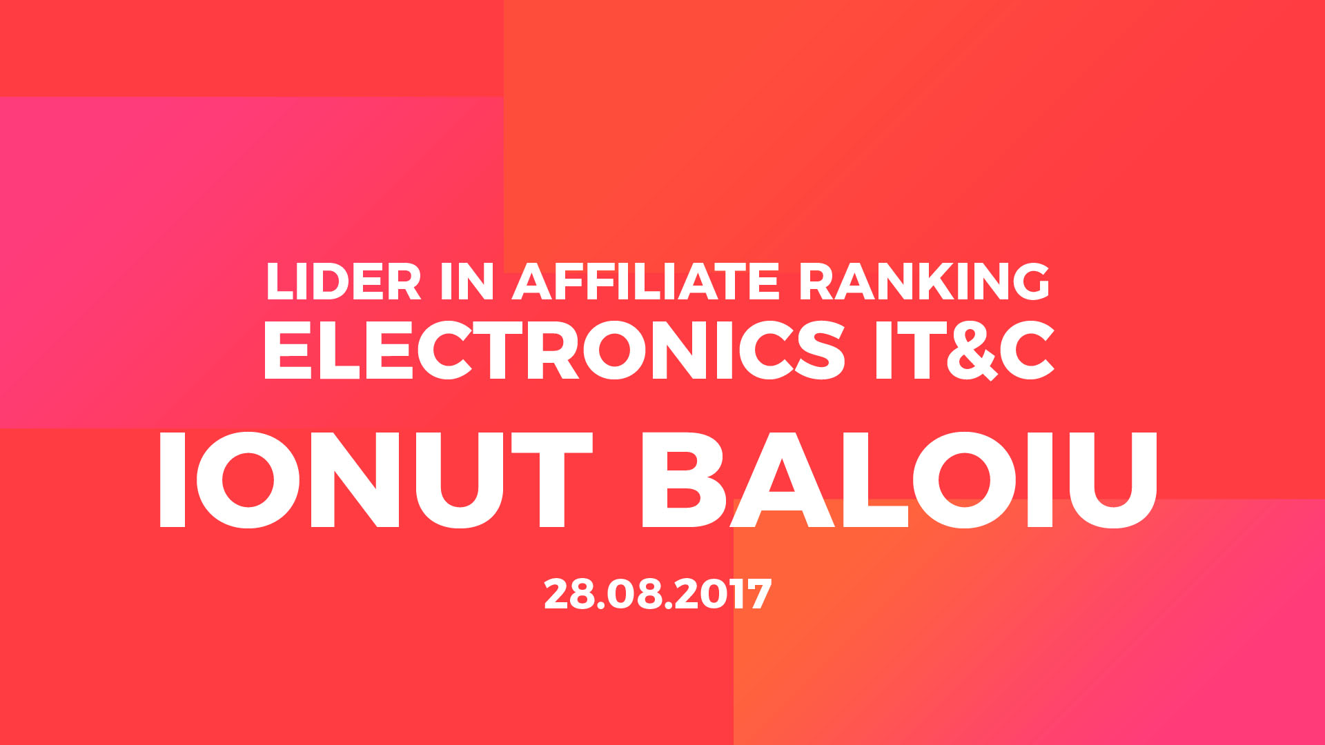 Affiliate ranking top affiliate itc ionut baloiu