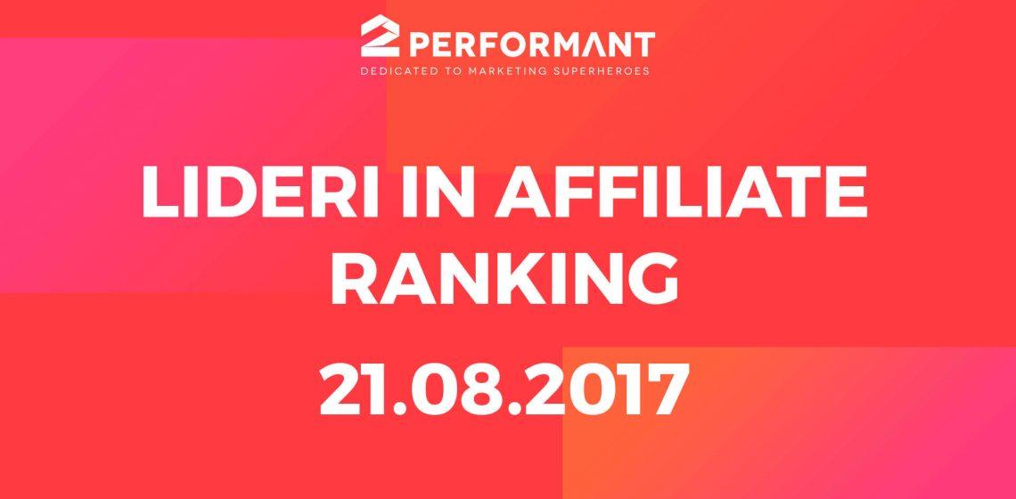 Affiliate ranking top affiliate